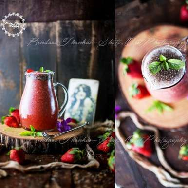 Photo of Strawberry juice with Chia seed by Bindaas Thankam at BetterButter