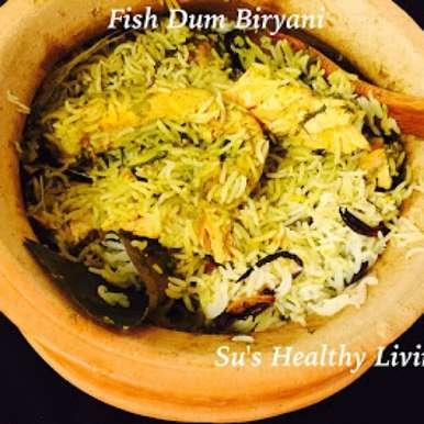 Photo of Rawas/Surmai Dum Biryani with Dill by Suchitra Kamath at BetterButter