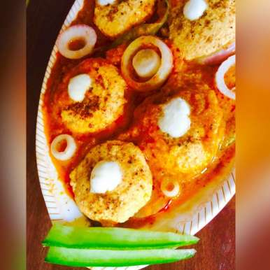 Photo of Paneer Tikki with creamy gravy by Rina Khanchandani at BetterButter