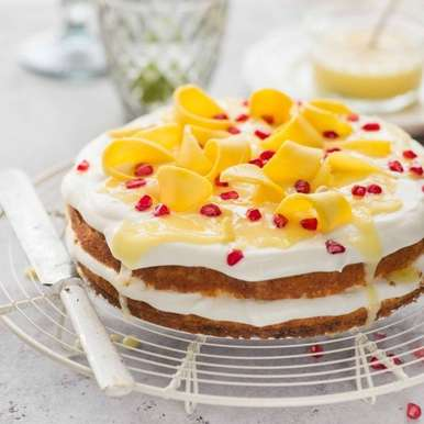 Photo of Lime Curd & Mango Cake by Himanshu Taneja at BetterButter