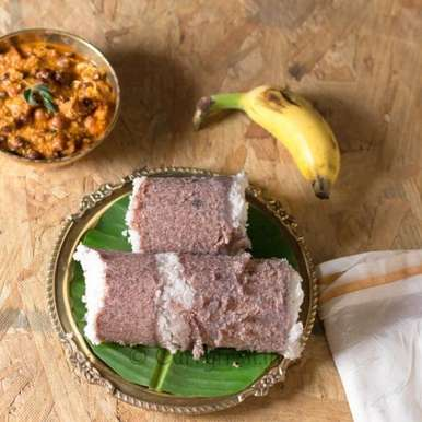Photo of Chemba Puttu(Red Rice Puttu) by Jyothi Rajesh at BetterButter