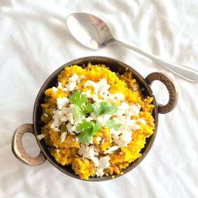 Photo of Comforting Vegetable Daliya by Richa Gupta at BetterButter
