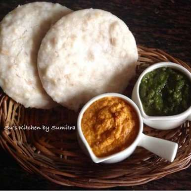Photo of Flattened Rice and Oats Thatte (Plate) Idlis by Sumitra Chowdhury at BetterButter