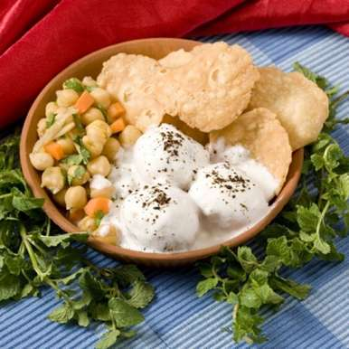 Photo of Dahi Bhalla Chole Chaat by BetterButter Editorial at BetterButter
