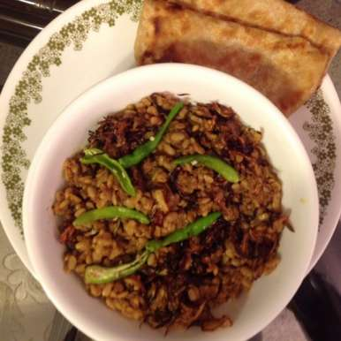 Photo of Keema with Urad dal by Daman Bedi at BetterButter