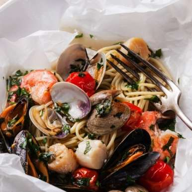 Photo of Seafood Noodles by Sanjula Thangkhiew at BetterButter