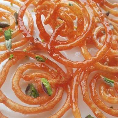 Photo of Jalebi - Part of Indore's famous breakfast Poha-Jalebi by Roo Chi at BetterButter