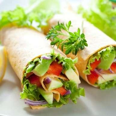Photo of Fresh Tortilla  Rolls by Ruchira Hoon at BetterButter