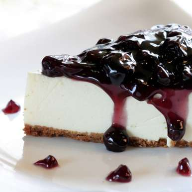 Photo of Blueberry Cheesecake by BetterButter Editorial at BetterButter