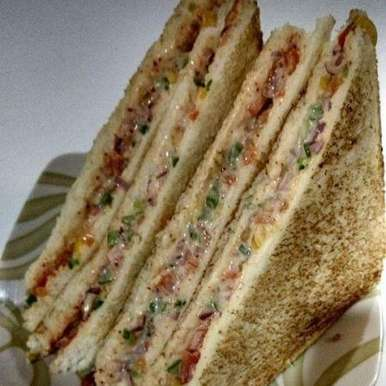Photo of Healthy Hung Curd \ Mayonnaise Sandwich by Sushmita Amol at BetterButter