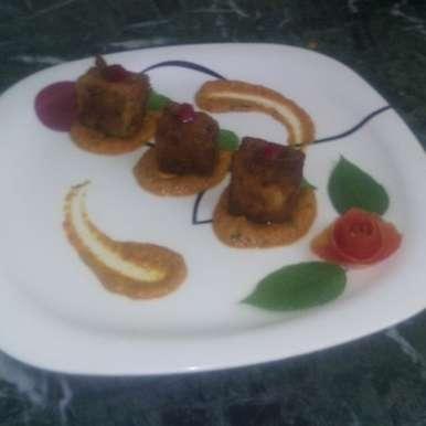 Photo of Eggplant Parmesan with Makhani gravy by NANDINI DIWAKAR at BetterButter