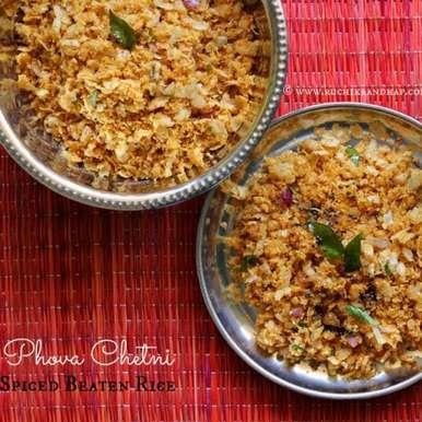 Photo of Phova Chetni | Pova Chutney ~ Mangalore Style Spiced Beaten Rice by Shireen Sequeira at BetterButter