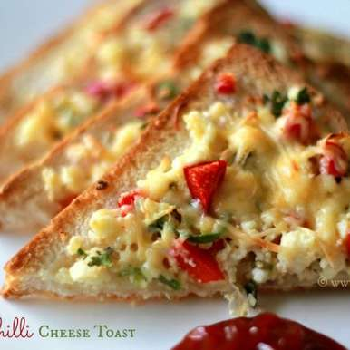 Photo of Chilli Cheese Toast with a Twist! by Shireen Sequeira at BetterButter