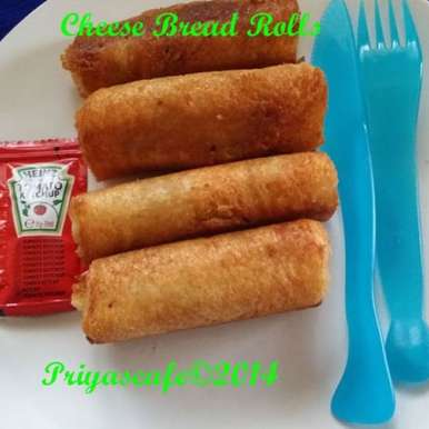Photo of Cheese Bread Roll by Priya Alagappan at BetterButter