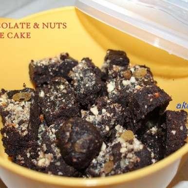 Photo of No-bake Chocolate Fudge by Krithika Chandrasekaran at BetterButter