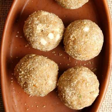 Photo of Rava Ladoo by BetterButter Editorial at BetterButter