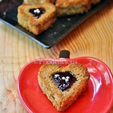 Photo of Jammy Hearts by Pari Vasisht at BetterButter
