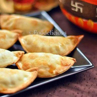 Photo of Baked Savoury Gujiya With Corn Stuffing by Pari Vasisht at BetterButter