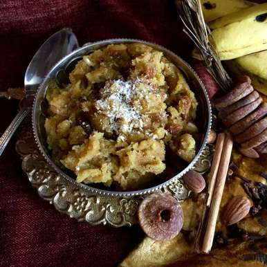 Photo of Banana Figs Spicy Halwa by Megha Vikram Singh at BetterButter