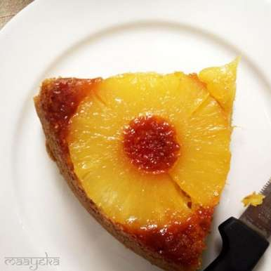 Photo of Pineapple upside down cake by Anjana Chaturvedi at BetterButter