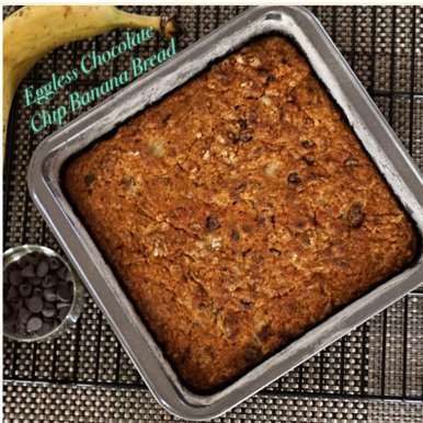 Photo of Eggless Chocolate Chip Banana Bread by Neetha Bagepalli at BetterButter