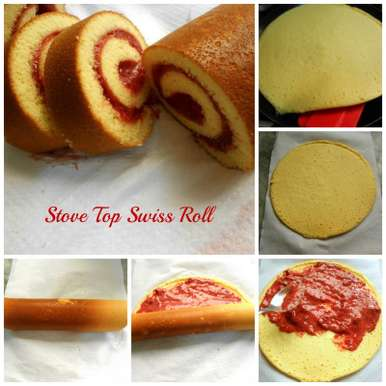 Photo of Stove Top Swiss Roll by Huma Kalim at BetterButter