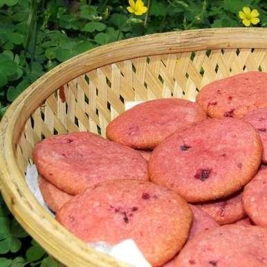 Photo of Whole Wheat Beet Cookies by Namita Tiwari at BetterButter