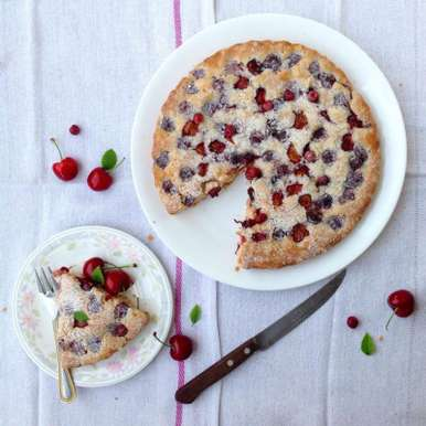 Photo of Cherry Cake by Shivesh Bhatia at BetterButter