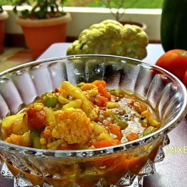 Photo of Mixed Vegetable Rassa by Krithika Chandrasekaran at BetterButter