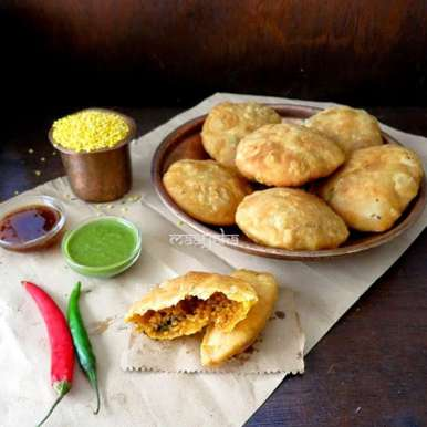 Photo of Moong daal ki khasta kachori by Anjana Chaturvedi at BetterButter