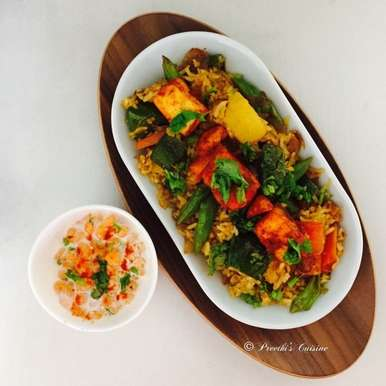 Photo of Fusion Pulao by Preethi Prasad at BetterButter