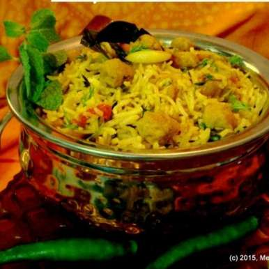 Photo of Soya Chunk Biryani by Meena C R at BetterButter