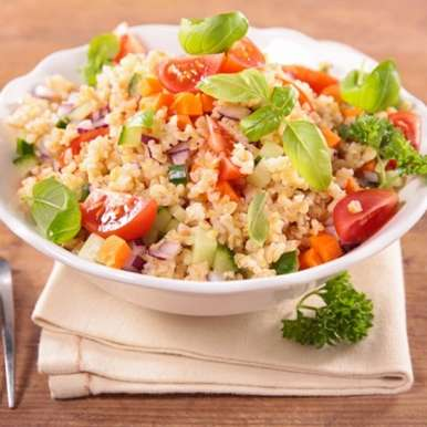 Barley salad, How to make Barley salad
