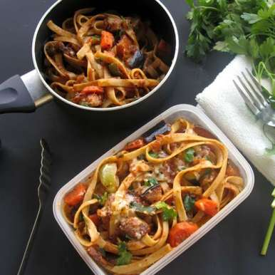 Photo of Summer Vegetable Fettuccine by sapana behl at BetterButter