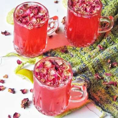 Photo of Rose Lemonade by Tasneem Rajkotwala at BetterButter