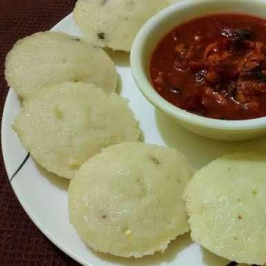 Photo of Instant Rava idli / Steamed Semolina Dumplings by Manju Vinod at BetterButter