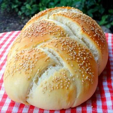 Photo of Italian Sesame Bread (Vegan) by Namita Tiwari at BetterButter