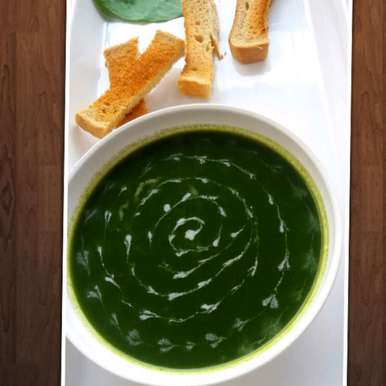 Photo of Spinach soup by Arti Gupta at BetterButter