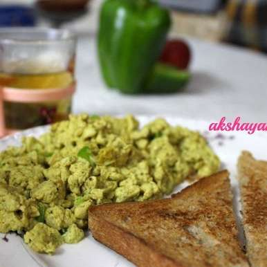 Photo of Healthy Masala Scrambled Eggs by Krithika Chandrasekaran at BetterButter