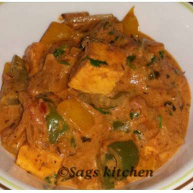 Photo of Kadai Paneer by Sagarika Sudharshan at BetterButter