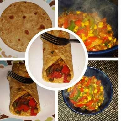 Veg Fajita, How to make Veg Fajita