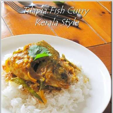 Photo of Tilapia Fish Curry/Kerala Style. by Rumana Rawat at BetterButter