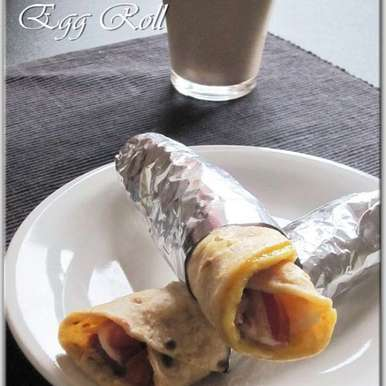 Photo of Egg Roll (Indian Street Food) by Rumana Rawat at BetterButter