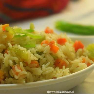 Photo of No onion-No Garlic Vegetable Pulao by Srividhya Ravikumar at BetterButter