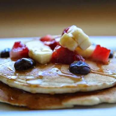 Photo of FRUITY HONEY  BROWN RICE PANCAKE by Bandini Shah at BetterButter