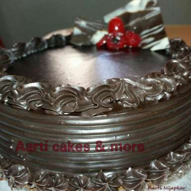 Photo of Chocolate Ganache Cake by Aarti Nijapkar at BetterButter