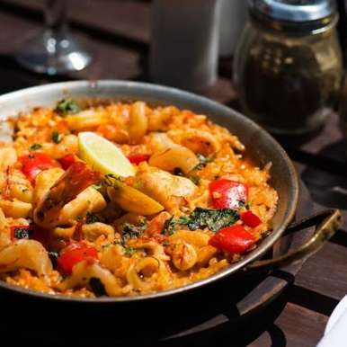 Photo of Seafood Paella by Lodi - The Garden Restaurant  at BetterButter