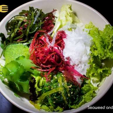 Photo of Seaweed and Mesclun salad with Plum Ume dressing by Guppy by Ai at BetterButter