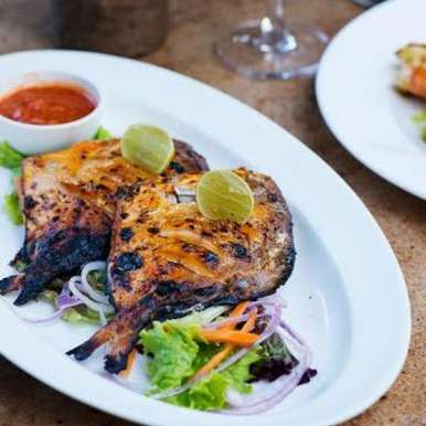 Photo of Chargrilled Pomfret by Lodi - The Garden Restaurant  at BetterButter