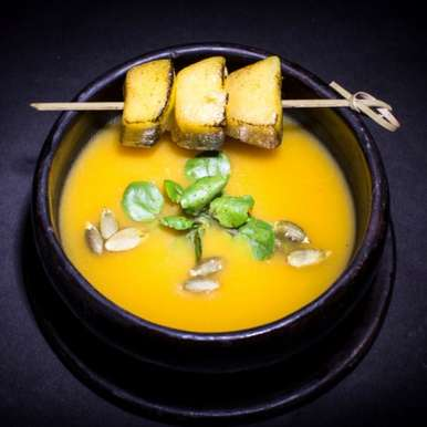 Photo of Smoked Pumpkin Soup by Guppy by Ai at BetterButter